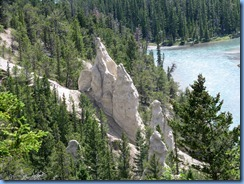 0366 Hoodoos Banff National Park AB