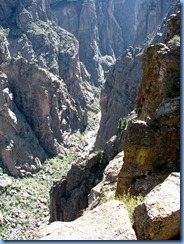 6122 Black Canyon of the Gunnison National Park South Rim Rd Chasm View CO