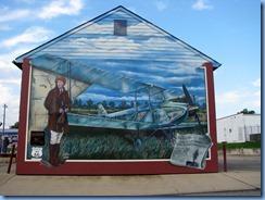 6604 Cuba Route 66 Mural City Amelia Earhart mural MO