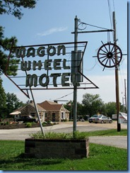6683 Cuba Route 66 Mural City Wagon Wheel Motel MO