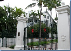 7316 Key West FL - Conch Tour Train - Harry S. Truman Little White House