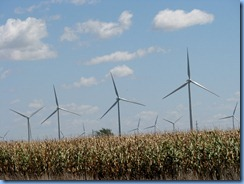 6821  I-55 wind turbines near Odell IL
