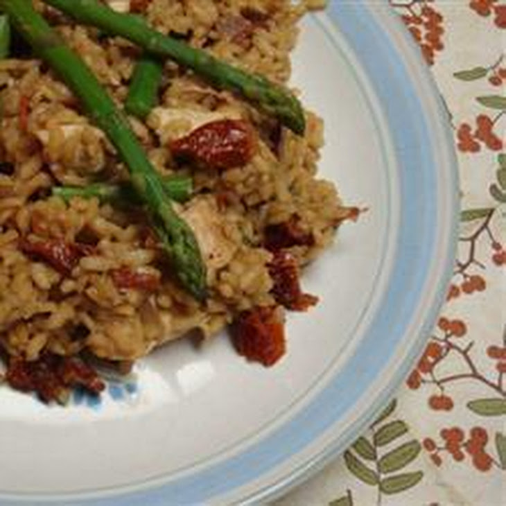 chicken and asparagus recipe yummly chicken and asparagus risotto ...