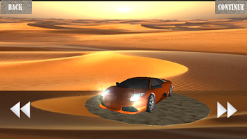 Screenshot of Car Racing 3D - Desert Safari