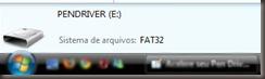 PENDRIVER FAT32