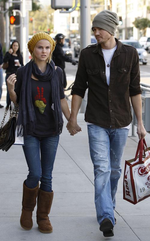 Chad Michael Murray y su novia 2013