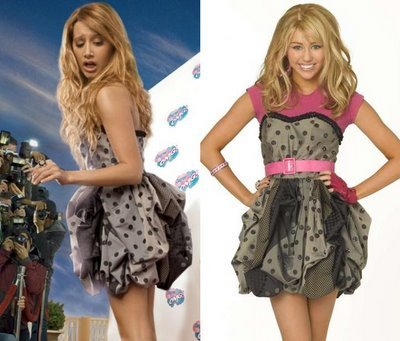 Vanessa Hudgens Miley Cyrus Fashion on Notivlog  Famosas Teens Fashion Face Off