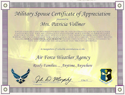 My Tightrope Walk Ground Control To Major Mom Jpg 400x307 Air Force Spouse Appreciation Certificate