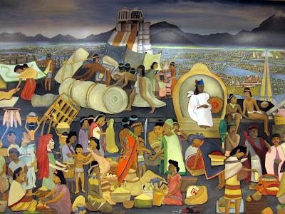 su casa, fennville, MI - Diego Rivera Mural