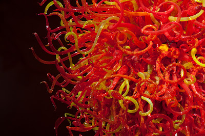 Dale Chihuly. The Sun (detail), 2010. Photo by Scott Mitchell Leen.