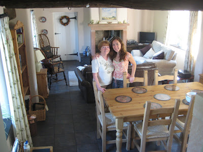 Me and Mum at Marlowe Cottage Kitchen