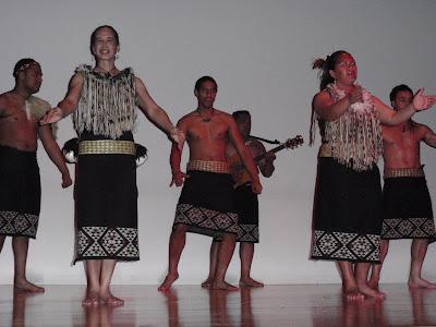 Maori Dance at the Maori Cultural Experience