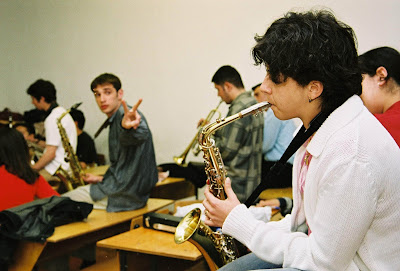 Jazz Improvisation Workshops at Bul Bul Music School, Baku, Azerbaijan