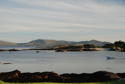 View from Pier Cottage, County Kerry, Ireland