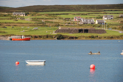 Portmagee looking at Valentia Island