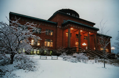 Marquette Courthouse in Winter