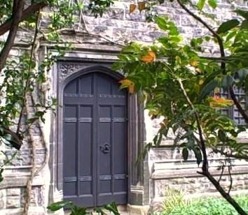 Church door, Belfast