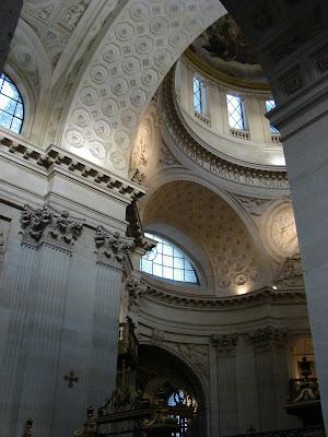 Interior of Val de Grâce Church