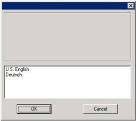 Aladdin HASP Monitor installer: select language