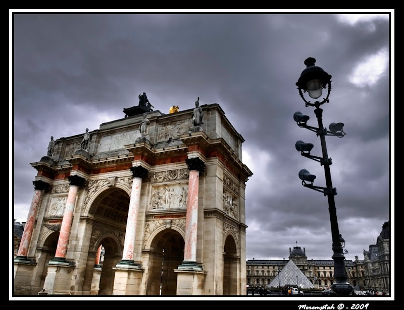 Photographie de l'Arc du Carrousel - Paris