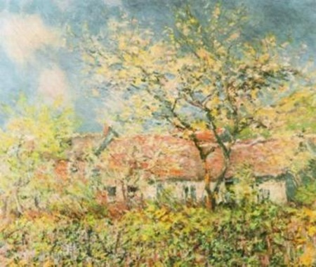 Claude-Monet-Springtime-at-Giverny--c--1880-83387