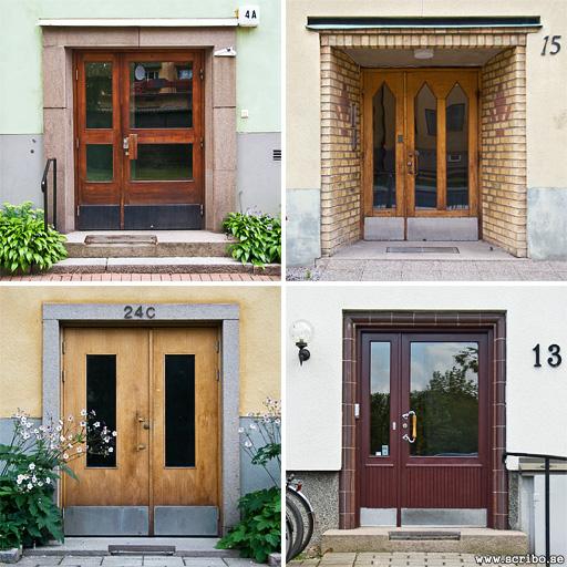 Dörrar på 40- 0ch 50-talshus