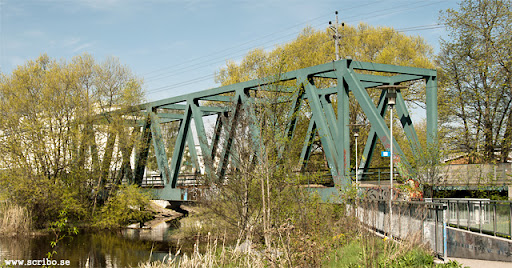Järnvägsbron över Fyrisån, fackverkskonstruktion 2011