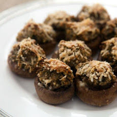 Dried-Tomato-Stuffed Mushrooms
