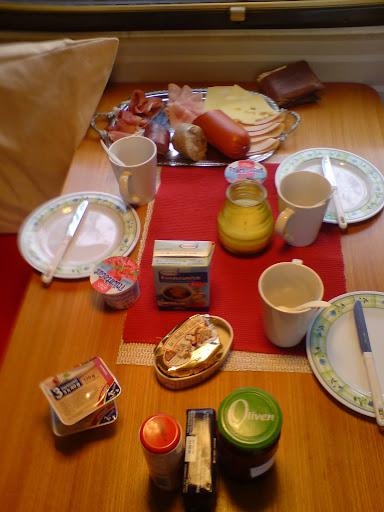 Unser lecker Frühstück