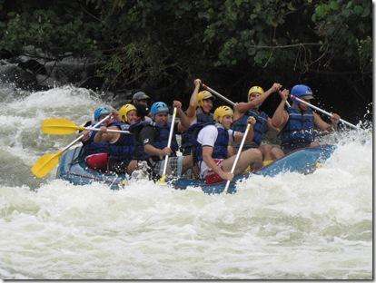 Rafting no Ribeirão das Lages 1