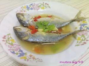 เมนูกับข้าว ปลาทูซาเตียะ