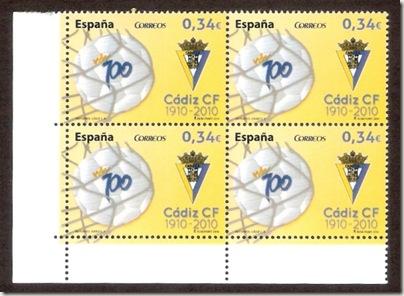 Cadiz - Centenario - Stamps