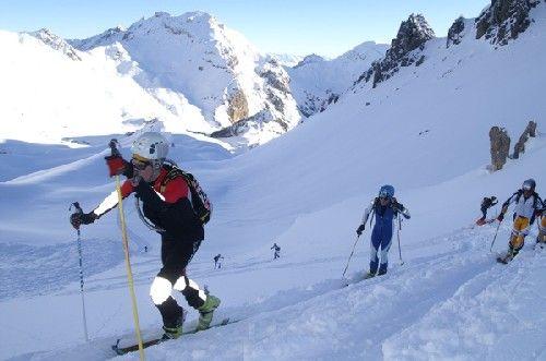 Ski in Frech Alps