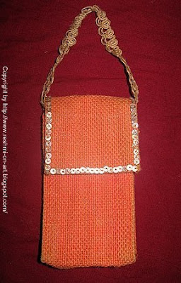 Making-Jute-Material-Mobile-Cover