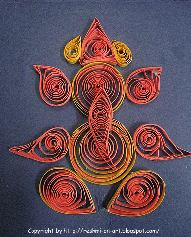 Quilling-Design-Lord-Ganesha