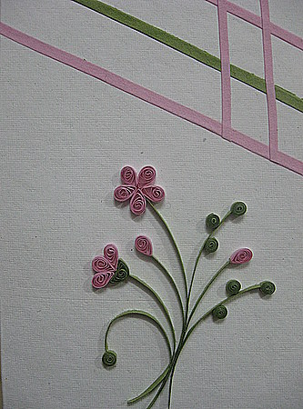 Quilling-craft-Pink-flowers