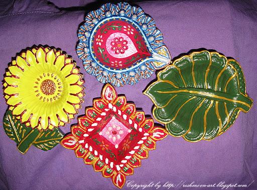 Designer-Diwali-Diyas