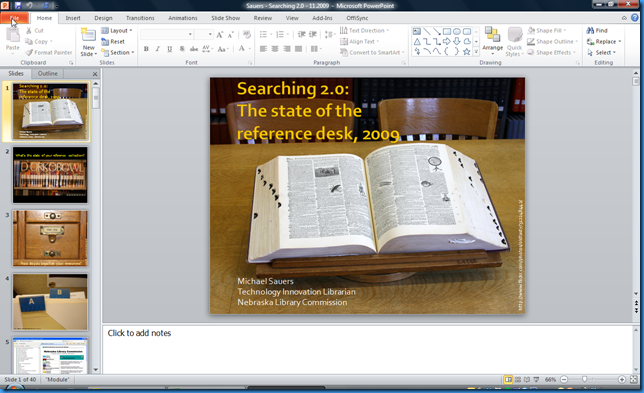 PowerPoint 2010 a