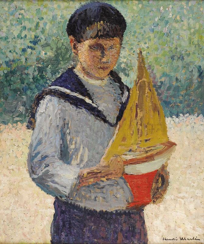 Картинки мальчик с корабликом зимой