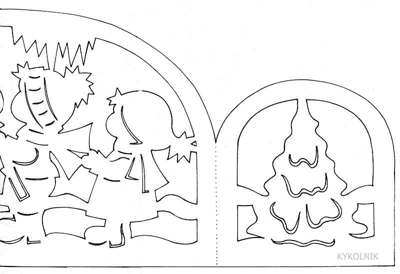 Новогодние схемы из бумаги. Украшаем дом к Новому году . Обсуждение на LiveInternet - Российский Сервис Онлайн-Дневников