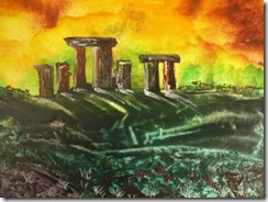 Stonehenge encaustic international