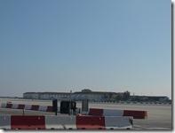 one side of runway