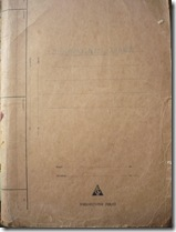 front of manuscript another
