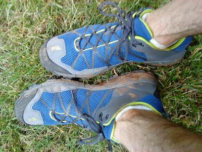 Inov-8 Flyroc 310 after the race