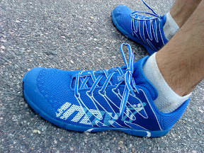 Inov-8 f-lite 230 on my feet