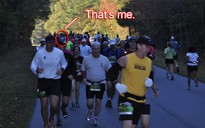 that's me in the marathon
