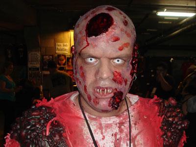 zombie face dude