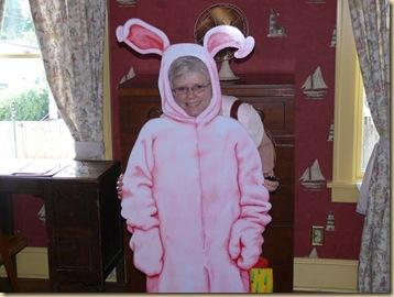 Brenda in Bunny Suit