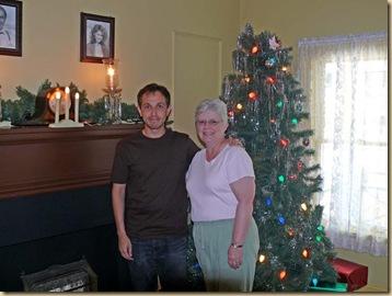 Brenda with Ian Petrelli