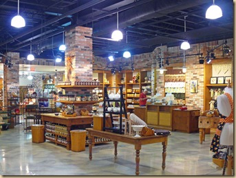 Longaberger's interior